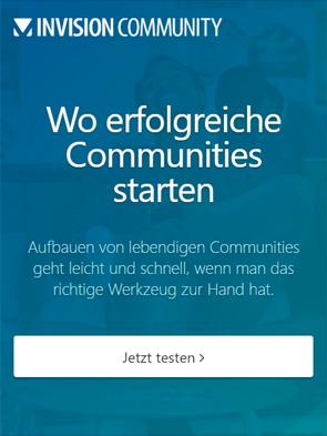 Invision Community - Sofort ausprobieren