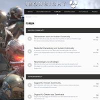 IRONSIGHT (Light Theme)