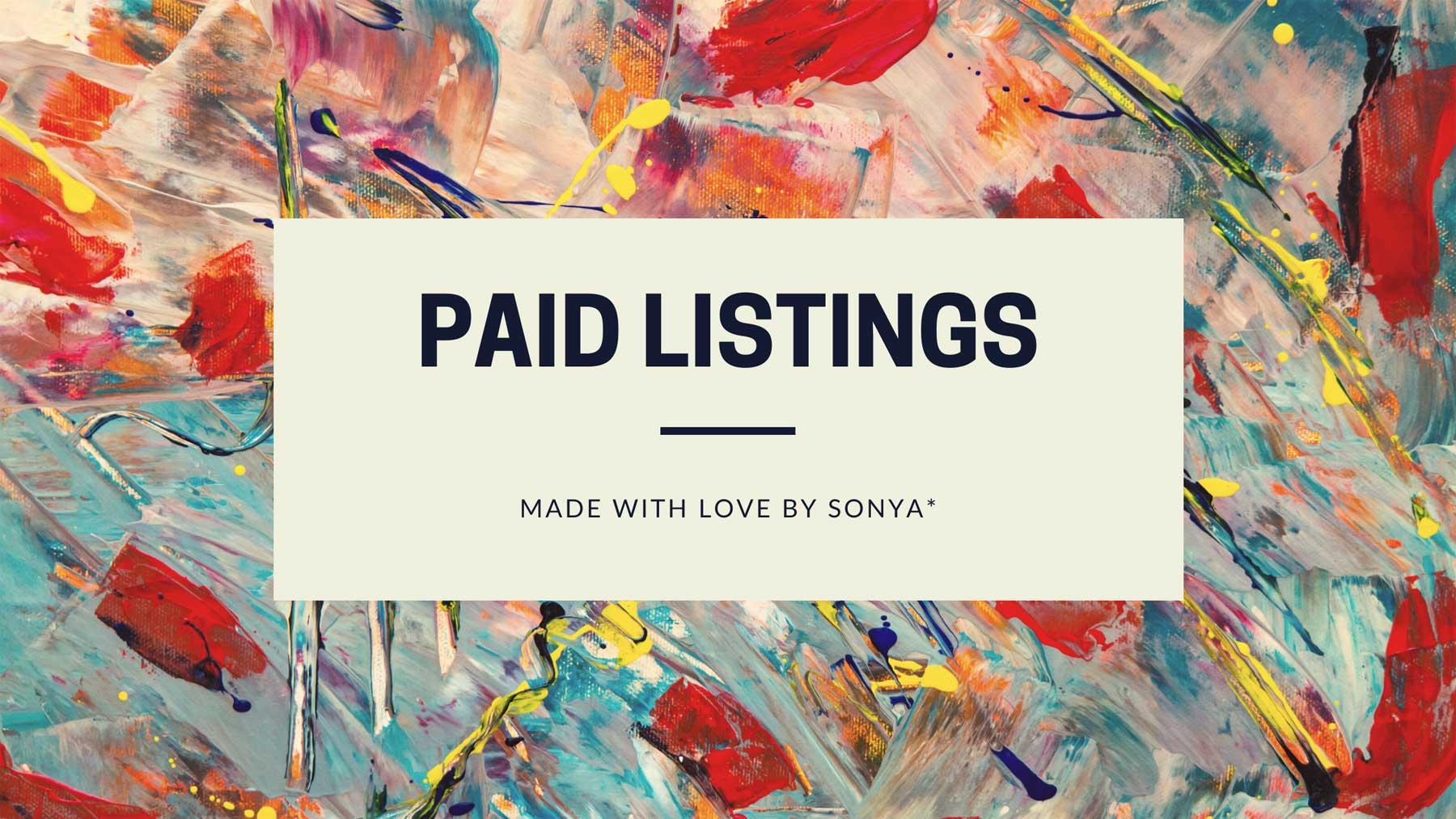 Paid Listings